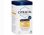 CITRACAL CALCIO SLO-CAL 1200MG CON VITAMINA D3 1000 IU 80 CAPS